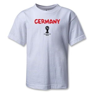 Germany 2014 FIFA World Cup Brazil(TM) Kids Core T-Shirt (White)