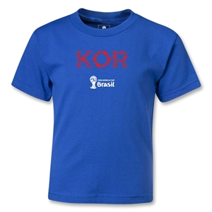 South Korea 2014 FIFA World Cup Brazil(TM) Kids Elements T-Shirt (Royal)
