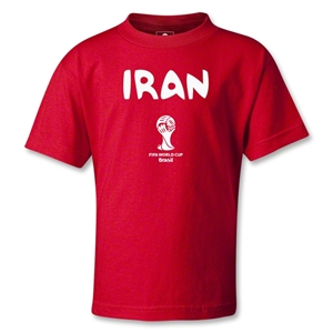 Iran 2014 FIFA World Cup Brazil(TM) Kids Core T-Shirt (Red)