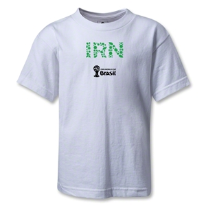 Iran 2014 FIFA World Cup Brazil(TM) Kids Elements T-Shirt (White)