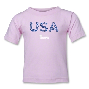 USA 2014 FIFA World Cup Brazil(TM) Kids Elements T-Shirt (Pink)