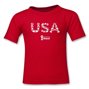 USA 2014 FIFA World Cup Brazil(TM) Kids Elements T-Shirt (Red)