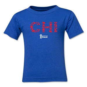 Chile 2014 FIFA World Cup Brazil(TM) Kids Elements T-Shirt (Royal)