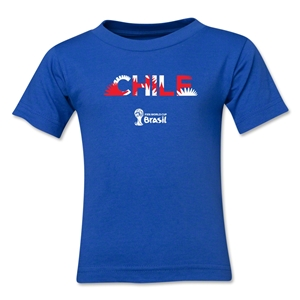 Chile 2014 FIFA World Cup Brazil(TM) Kids Palm T-Shirt (Royal)