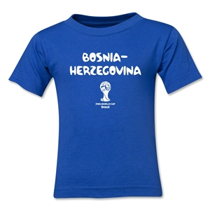 Bosnia-Herzegovina 2014 FIFA World Cup Brazil(TM) Kids Core T-Shirt (Royal)