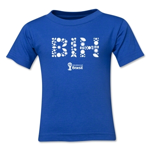 Bosnia-Herzegovina 2014 FIFA World Cup Brazil(TM) Kids Elements T-Shirt (Royal)