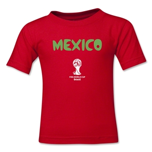Mexico 2014 FIFA World Cup Brazil(TM) Kids Core T-Shirt (Red)