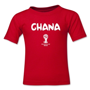 Ghana 2014 FIFA World Cup Brazil(TM) Kid's Core T-Shirt (Red)