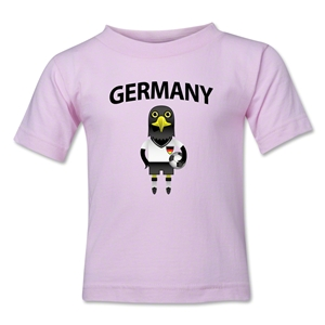 Germany Animal Mascot Kids T-Shirt (Pink)