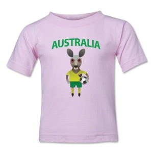 Australia Animal Mascot Kids T-Shirt (Pink)