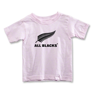 All Blacks Fern Logo Toddler T-Shirt (Pink)