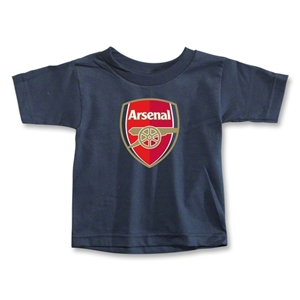 Arsenal Crest Toddler T-Shirt (Navy)