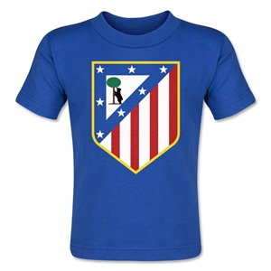 Atletico Madrid Crest Toddler T-Shirt (Royal)