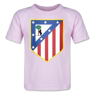 Atletico Madrid Crest Toddler T-Shirt (Pink)