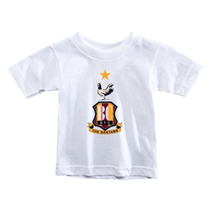 Bradford City Toddler Crest T-Shirt (White)