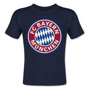 Bayern Munich Logo Toddler T-Shirt (Navy)
