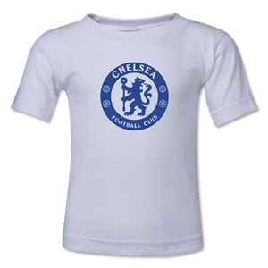 Chelsea Emblem Toddler T-Shirt (White)