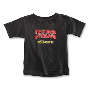 CONCACAF Gold Cup 2013 Toddler Trinidad and Tobago T-Shirt (Black)