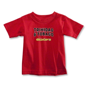 CONCACAF Gold Cup 2013 Toddler Trinidad and Tobago T-Shirt (Red)