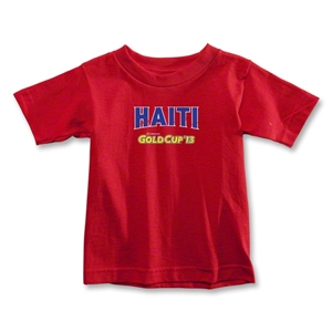 CONCACAF Gold Cup 2013 Toddler Haiti T-Shirt (Red)