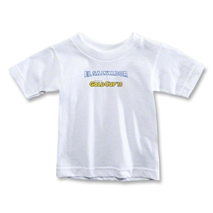CONCACAF Gold Cup 2013 Toddler El Salvador T-Shirt (White)