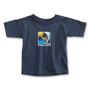 FIFA Beach World Cup 2013 Toddler Emblem T-Shirt (Navy)