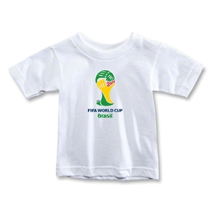 2014 FIFA World Cup Brazil(TM) Emblem Toddler T-Shirt (White)