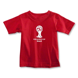 2014 FIFA World Cup Brazil(TM) Toddler Emblem T-Shirt (Red)