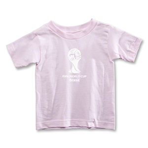 2014 FIFA World Cup Brazil(TM) Toddler Emblem T-Shirt (Pink)