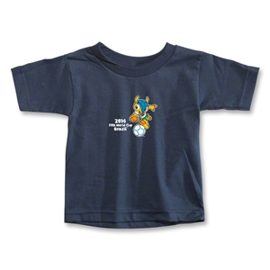 2014 FIFA World Cup Brazil(TM) Toddler Mascot T-Shirt (Navy)