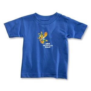 2014 FIFA World Cup Brazil(TM) Toddler Mascot T-Shirt (Royal)