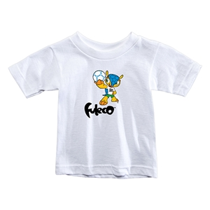 2014 FIFA World Cup Brazil(TM) Toddler Mascot T-Shirt (White)