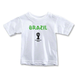 Brazil 2014 FIFA World Cup Brazil(TM) Toddler Core T-Shirt (White)