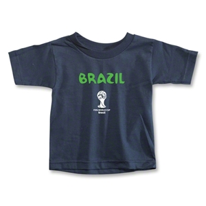 Brazil 2014 FIFA World Cup Brazil(TM) Toddler Core T-Shirt (Navy)