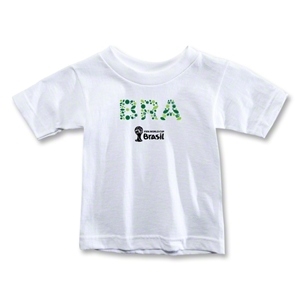 Brazil 2014 FIFA World Cup Brazil(TM) Toddler Elements T-Shirt (White)