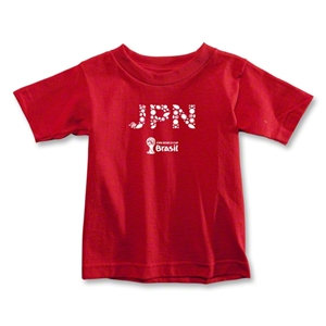 Japan 2014 FIFA World Cup Brazil(TM) Toddler Elements T-Shirt (Red)