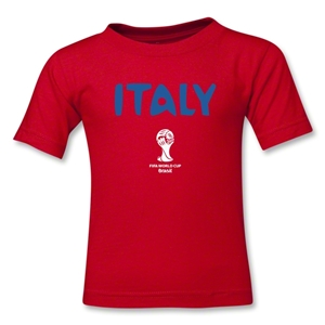 Italy 2014 FIFA World Cup Brazil(TM) Toddler Core T-Shirt (Red)