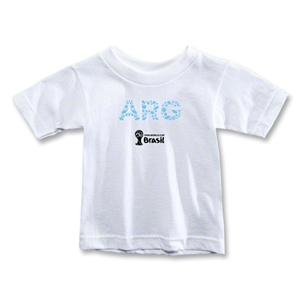 Argentina 2014 FIFA World Cup Brazil(TM) Toddler Elements T-Shirt (White)