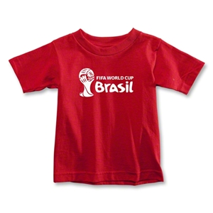 2014 FIFA World Cup Brazil(TM) Toddler Landscape T-Shirt (Red)