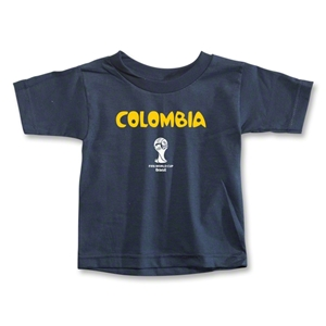 Colombia 2014 FIFA World Cup Brazil(TM) Toddler Core T-Shirt (Navy)