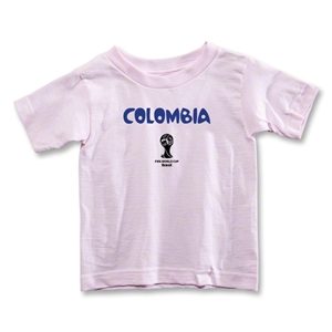 Colombia 2014 FIFA World Cup Brazil(TM) Toddler Core T-Shirt (Pink)