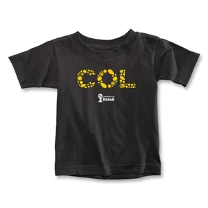 Colombia 2014 FIFA World Cup Brazil(TM) Toddler Elements T-Shirt (Black)