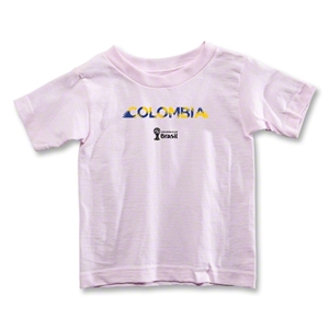 Colombia 2014 FIFA World Cup Brazil(TM) Toddler Palm T-Shirt (Pink)