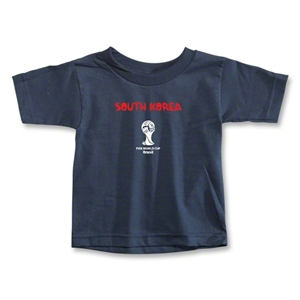 South Korea 2014 FIFA World Cup Brazil(TM) Toddler Core T-Shirt (Navy)