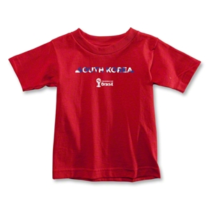South Korea 2014 FIFA World Cup Brazil(TM) Toddler Palm T-Shirt (Red)