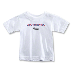 South Korea 2014 FIFA World Cup Brazil(TM) Toddler Palm T-Shirt (White)