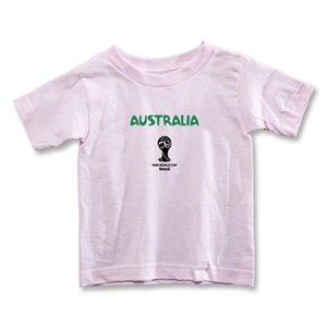 Australia 2014 FIFA World Cup Brazil(TM) Toddler Core T-Shirt (Pink)