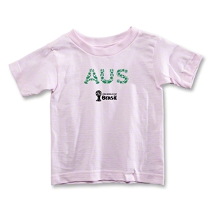 Australia 2014 FIFA World Cup Brazil(TM) Toddler Elements T-Shirt (Pink)