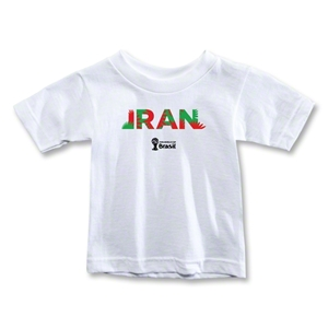 Iran 2014 FIFA World Cup Brazil(TM) Toddler Palm T-Shirt (White)