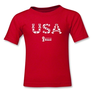 USA 2014 FIFA World Cup Brazil(TM) Toddler Elements T-Shirt (Red)